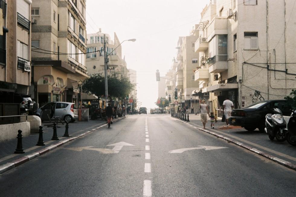 Tel Aviv Street by Lucia Bartl